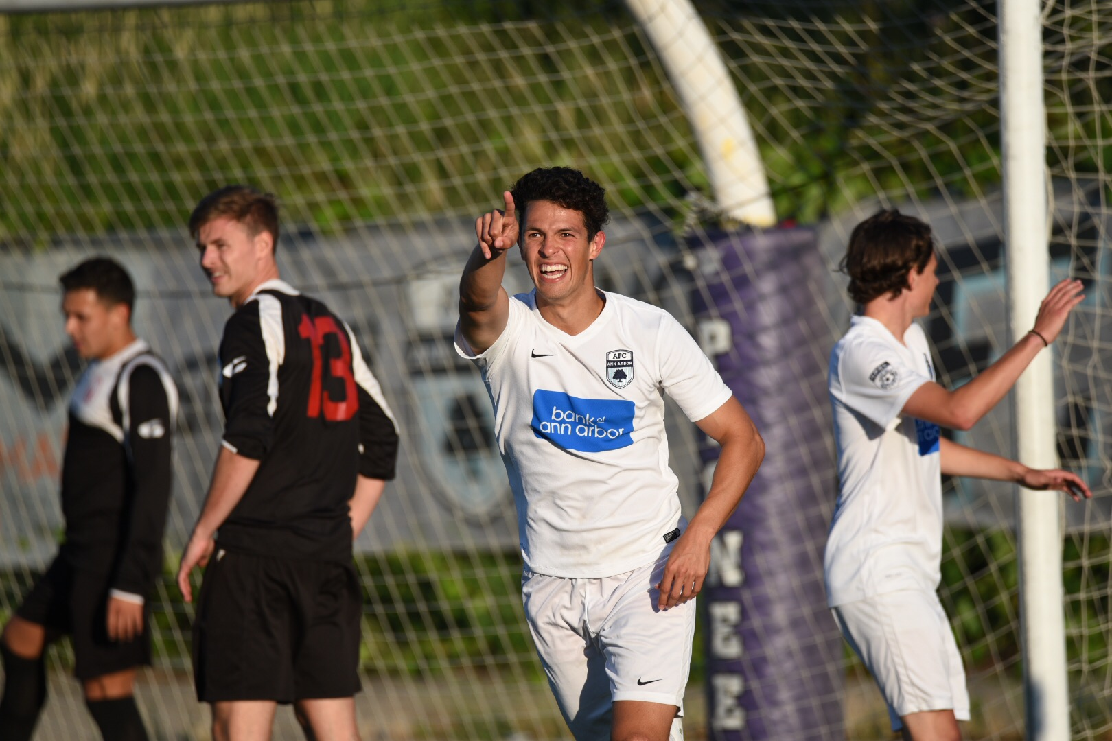 Yuri Farkas had two assists and a goal Saturday to earn him Audi Ann Arbor Man of the Match