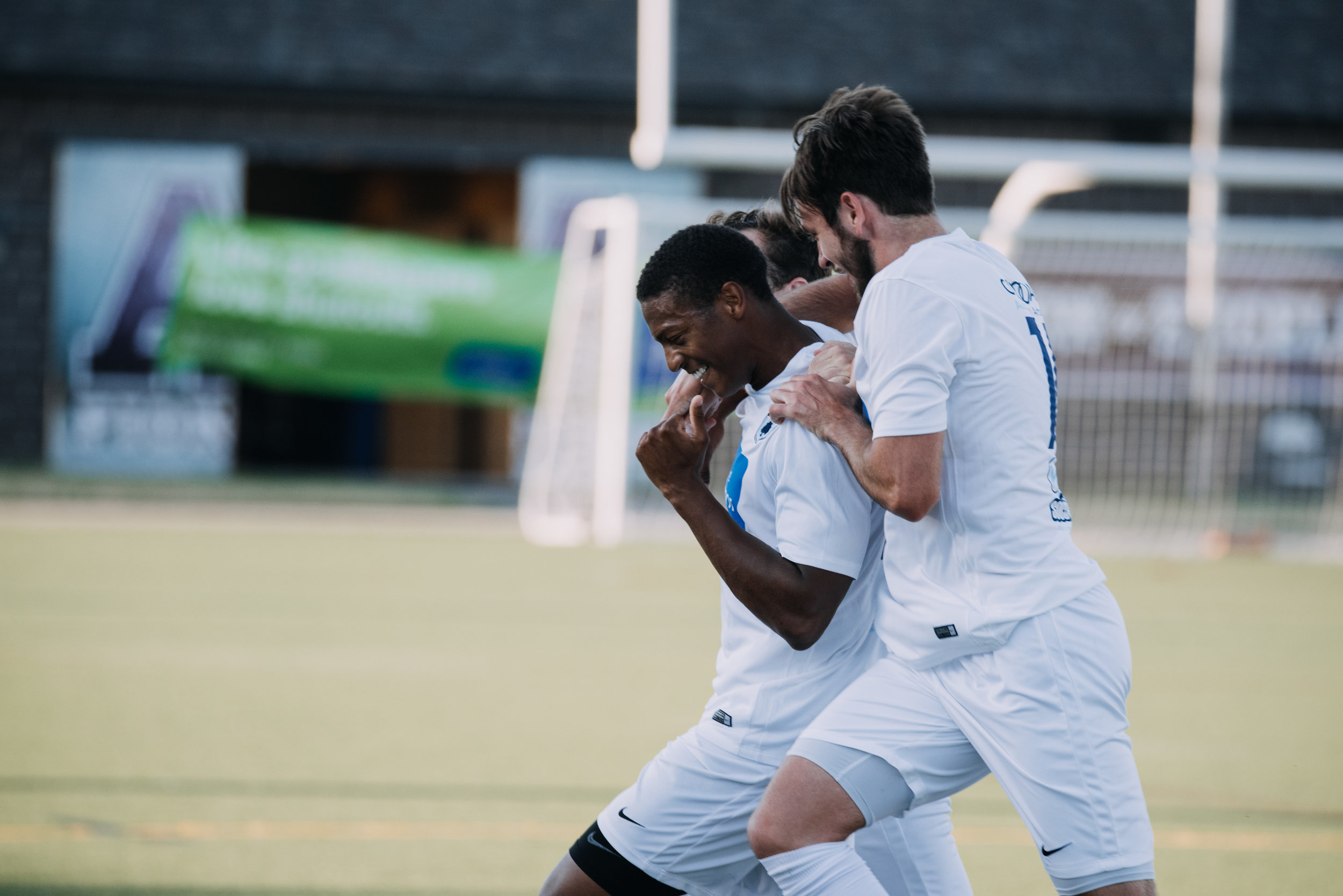 Kaleb Jackson scored the lone goal in Saturday's 1-0 victory over Lansing United