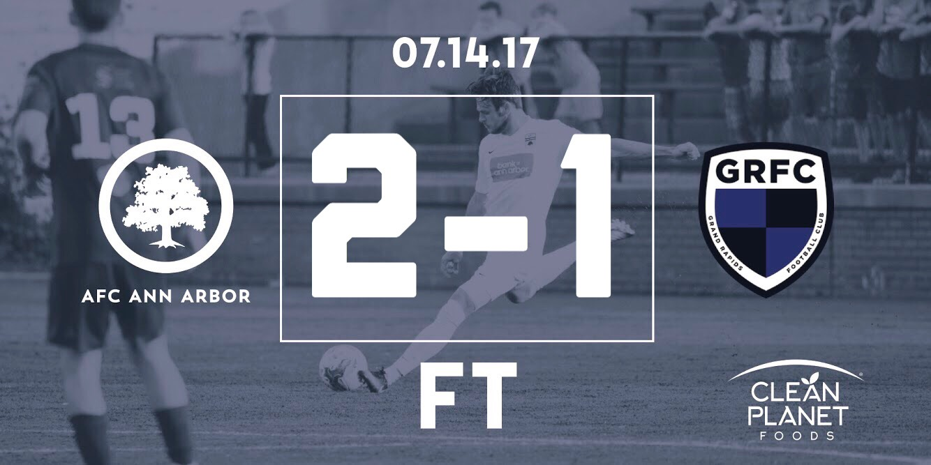 54' Thornton, 56' Farkas //  Match Recap  // Audi Ann Arbor Man of the Match: Ben Thornton