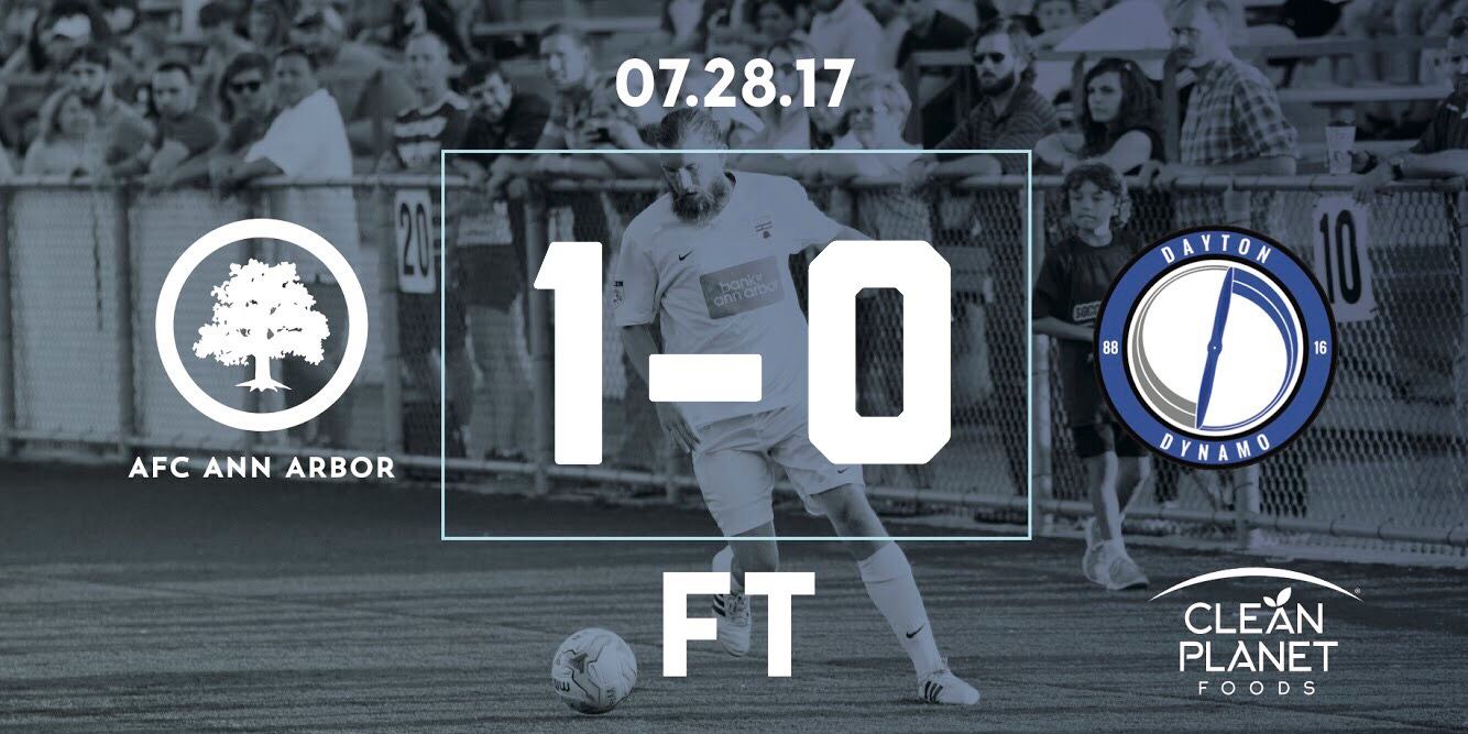 90'+ Vaughan //  Match Recap  // Audi of Ann Arbor Man of the Match: James Vaughan