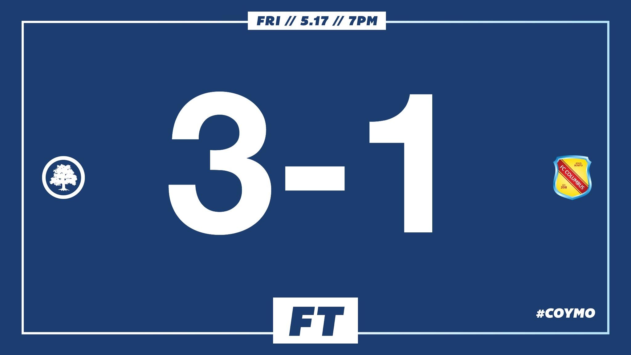 Hallahan 11', Chalbaud 23', Matthews 76' //  Match Report  // Audi Ann Arbor Man of the Match: Sebastian Chalbaud