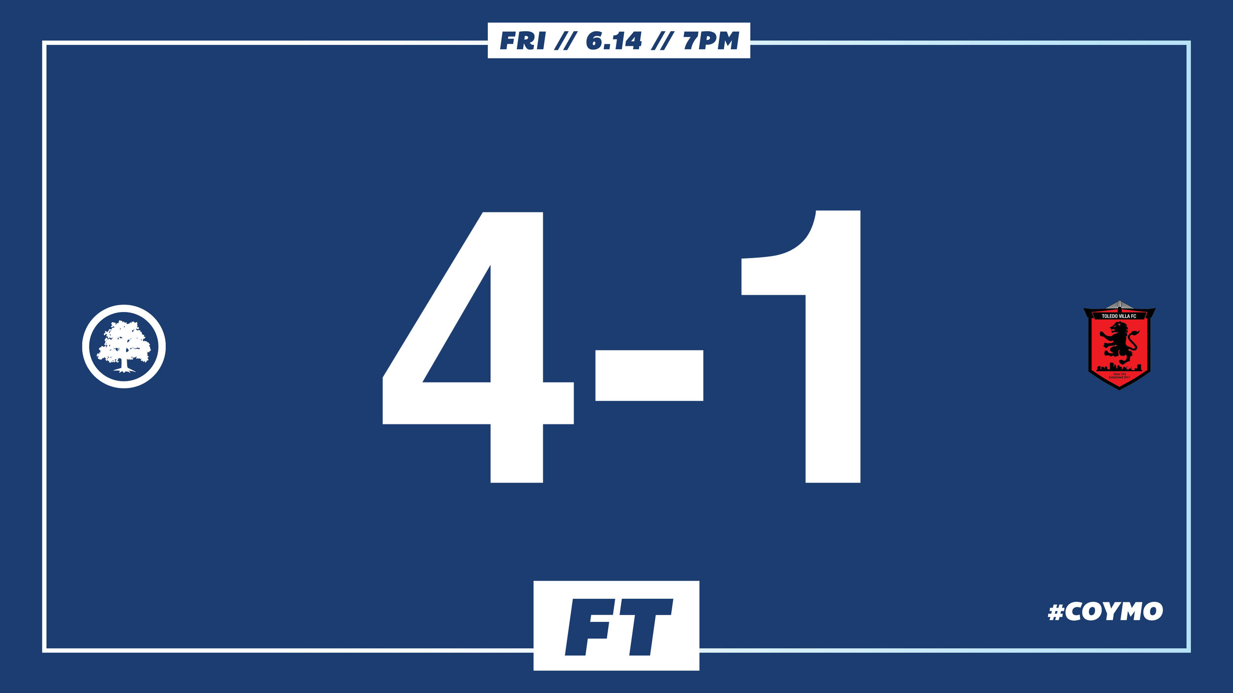 Thornton 32', Eskay 43', Matthews 46', Cisse 83' //  Match Report  // Audi Ann Arbor Man of the Match: Will Eskay