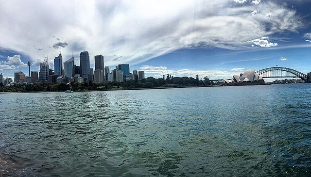 Thank you Virgin Australia for letting us have a 72 hour layover in Sydney🎉 #sydneyharbour #sansplans™