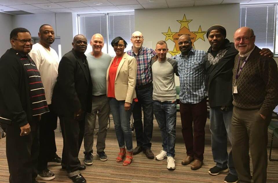 Shereese Turner and men of TCR.jpg