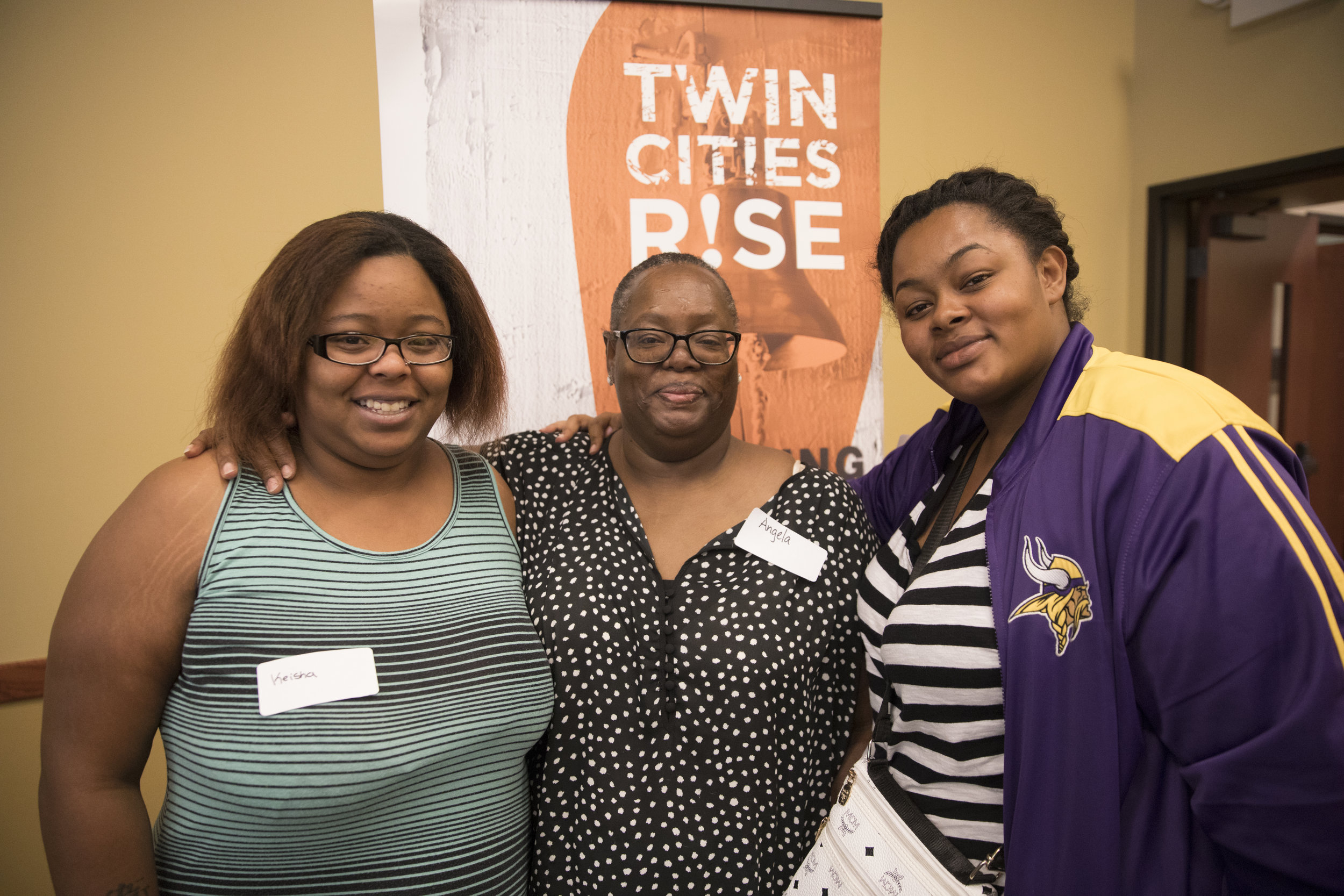 twin city rise volunteers