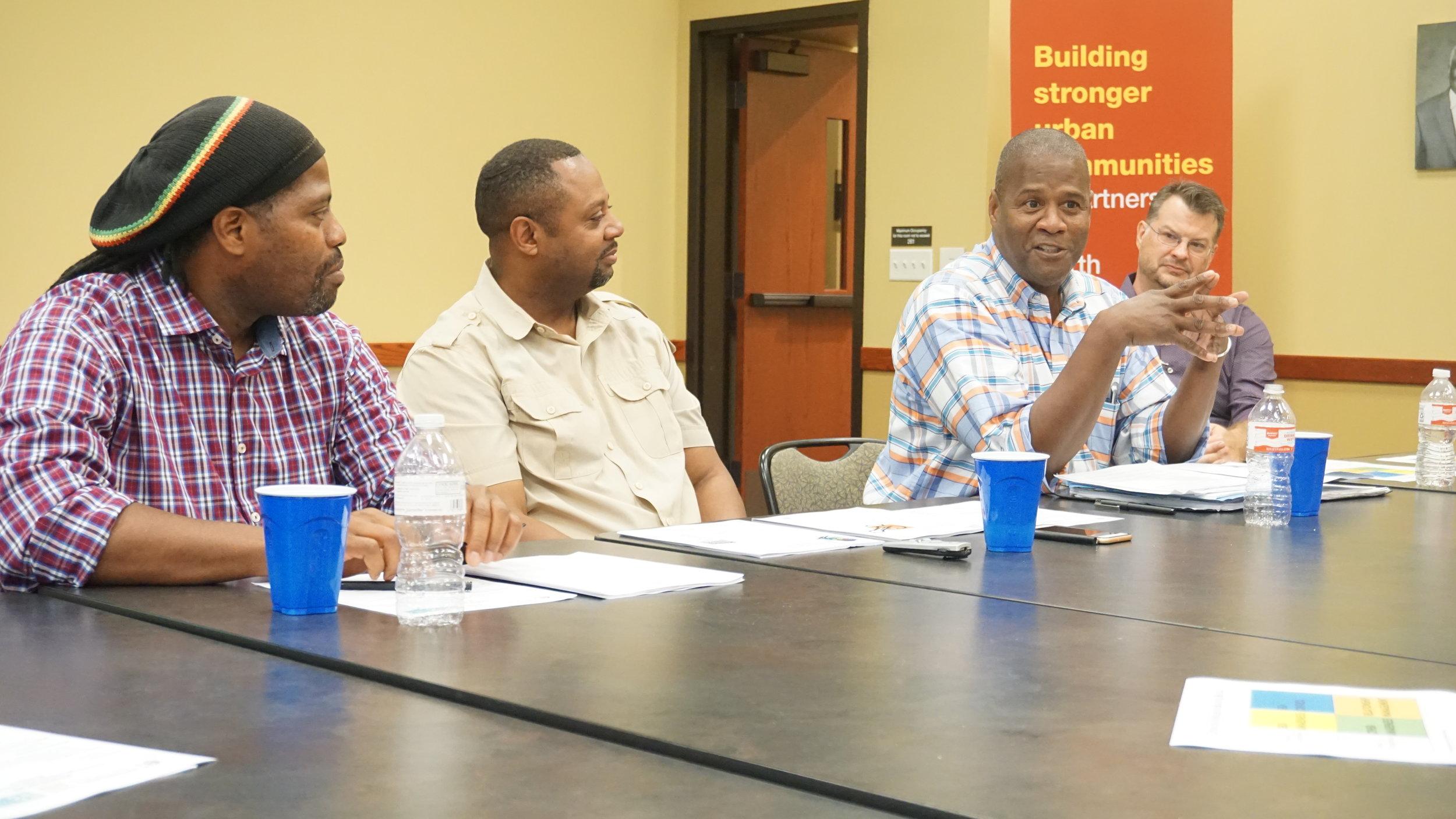Group employee training TCR
