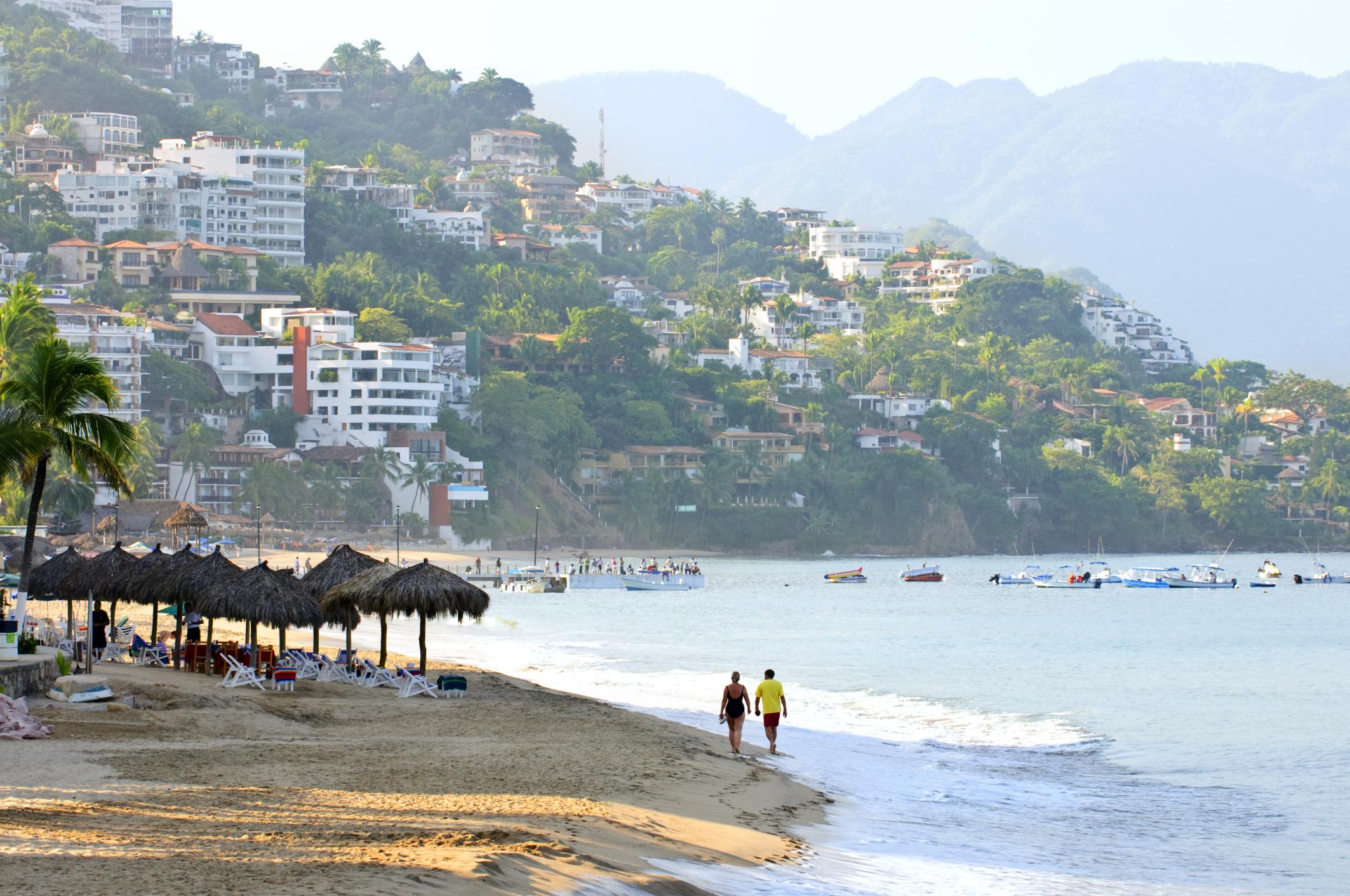 The Romantic Zone and Los Muertos Beach