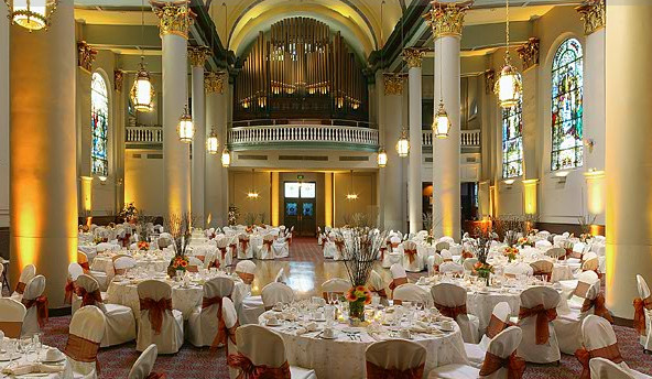 Grand Hall at The Priory