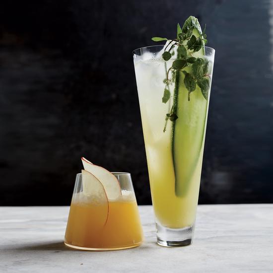 The Apple Cider-Ginger Shrub