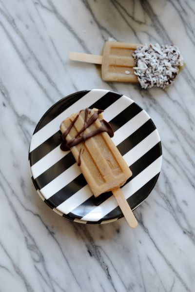 CAUSE A LITTLE SHIVER WITH  COFFEE-FLAVORED POPSICLES