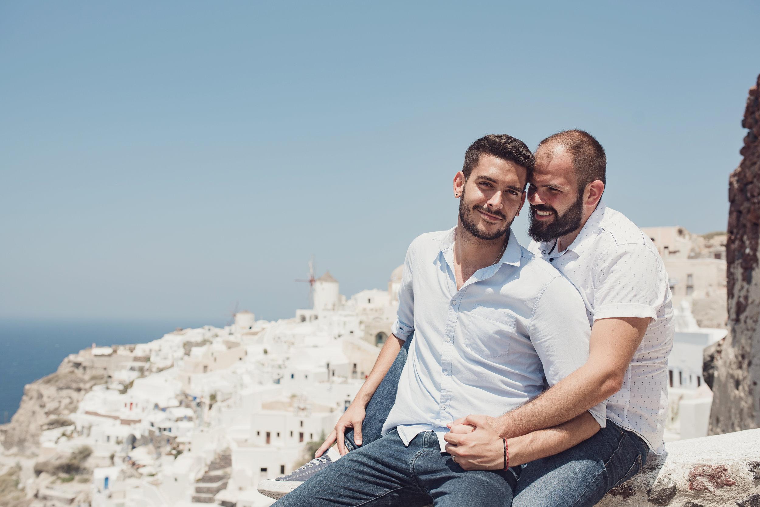 Greg and Christos. Photo credit: Kimon Kaketsis
