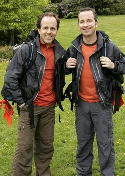 The couple on The Amazing Race!