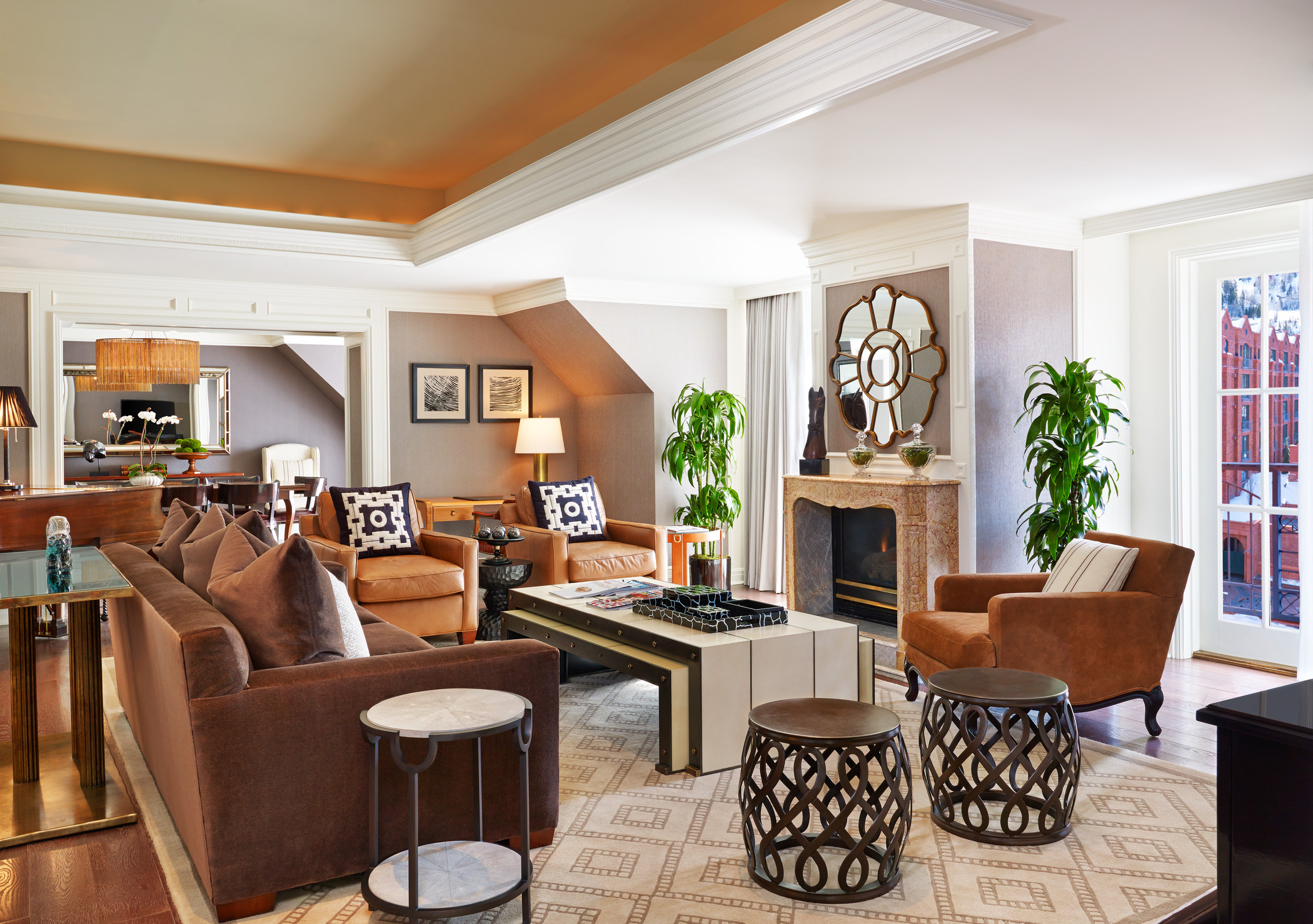 For a decidedly baller experience, get thee to the St. Regis.