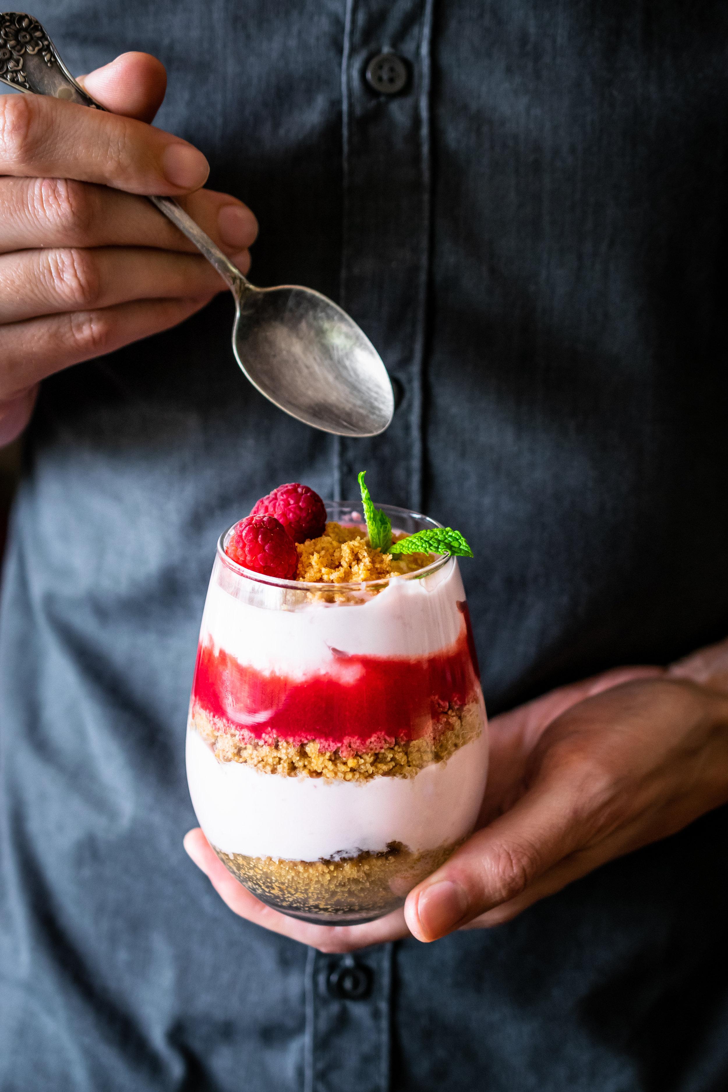 raspberry breakfast parfait.jpg
