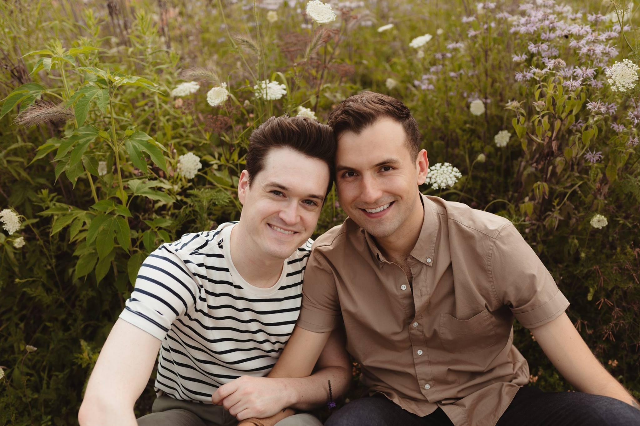 Andrew & Aidan (Photo: LK Photography)