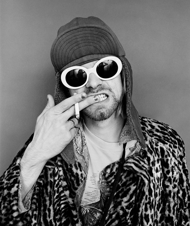 Photo: Kurt Cobain: Brushing Teeth, New York City, 1993 by Jesse Frohman