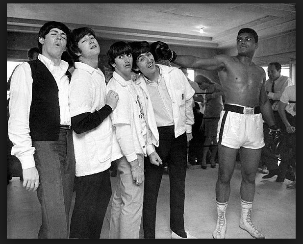 Mohammad Ali and The Beatles