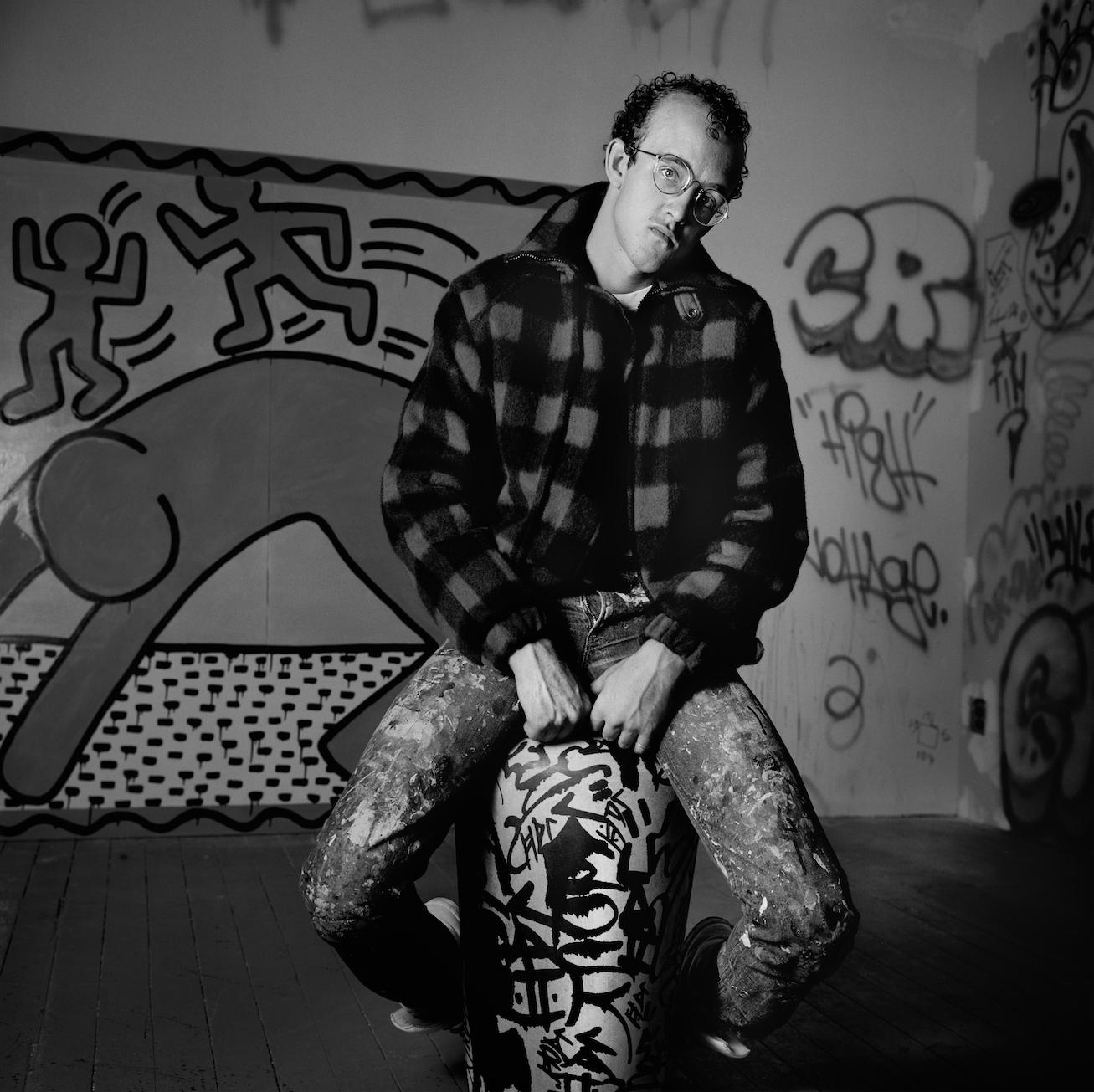 Keith Haring Studio #1