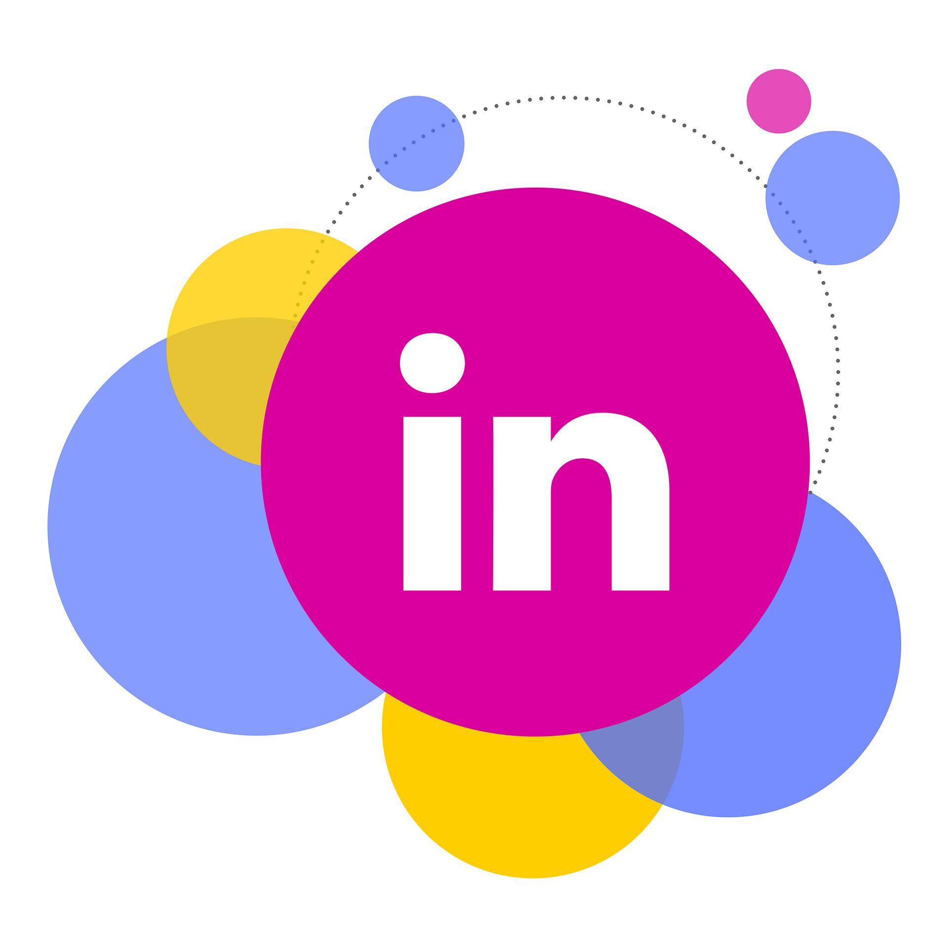 share on linkedin: social butterfly