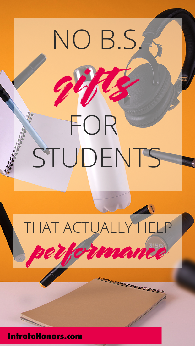 "whether you're buying a gift for a freshman to say, ""you got this,"" or Christmas has rolled around and you need to think of a great gift that won't wind up with a ""oh geez, thanks Aunt Miranda...you really shouldn't have,"" this gift list is for you."