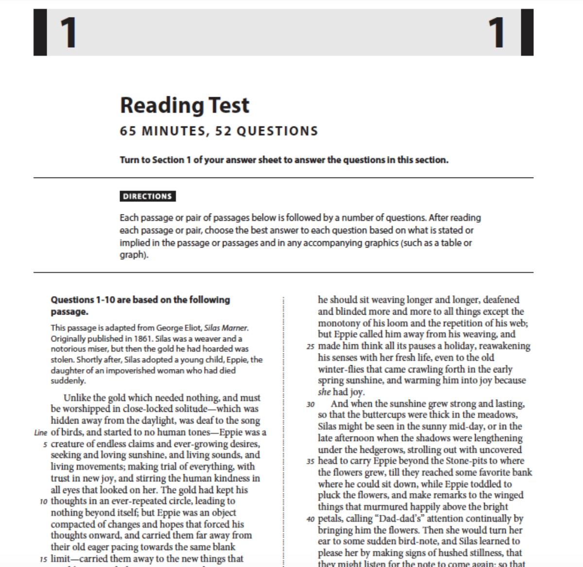 - How To Raise Your Score On The SAT (series): Reading Comprehension