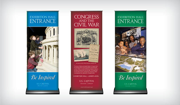 Exhibition Hall banners