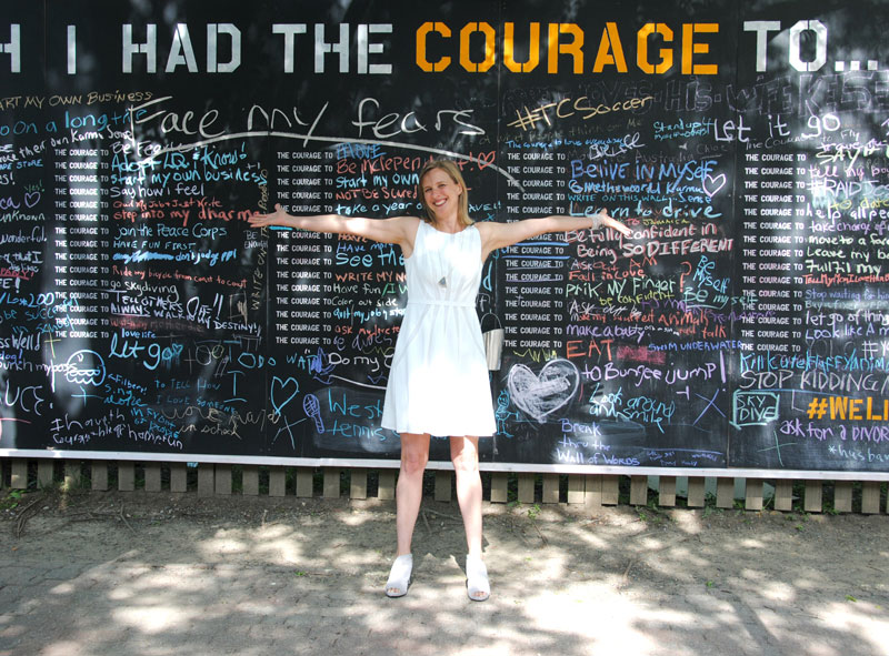 Courage Wall: Alexandria Stylebook, May 2015