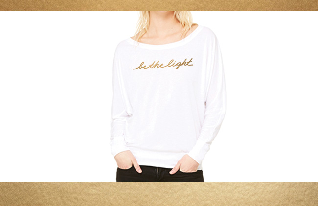 Be The Light shirt