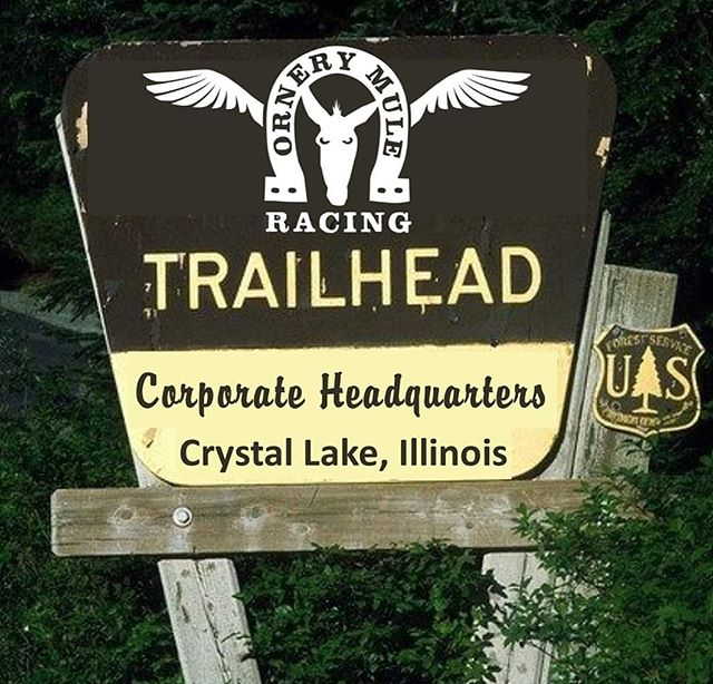 BIG NEWS! We have a Headquarters for Ornery Mule Racing! Located right on a TRAIL in Crystal Lake, Illinois! We envision a safe & fun place for trail-runners We will film our podcast with a LIVE audience here Run coaches, FUN runs, learning experiences- all things trail! We are currently moving in & cleaning the place up.  Watch for videos of its progress on our facebook pages & YouTube channel.