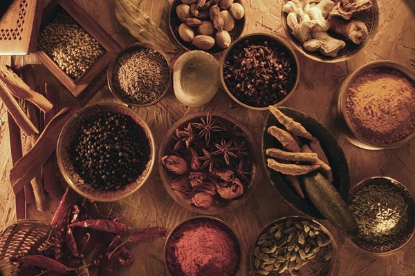 An assortment of yummy spices