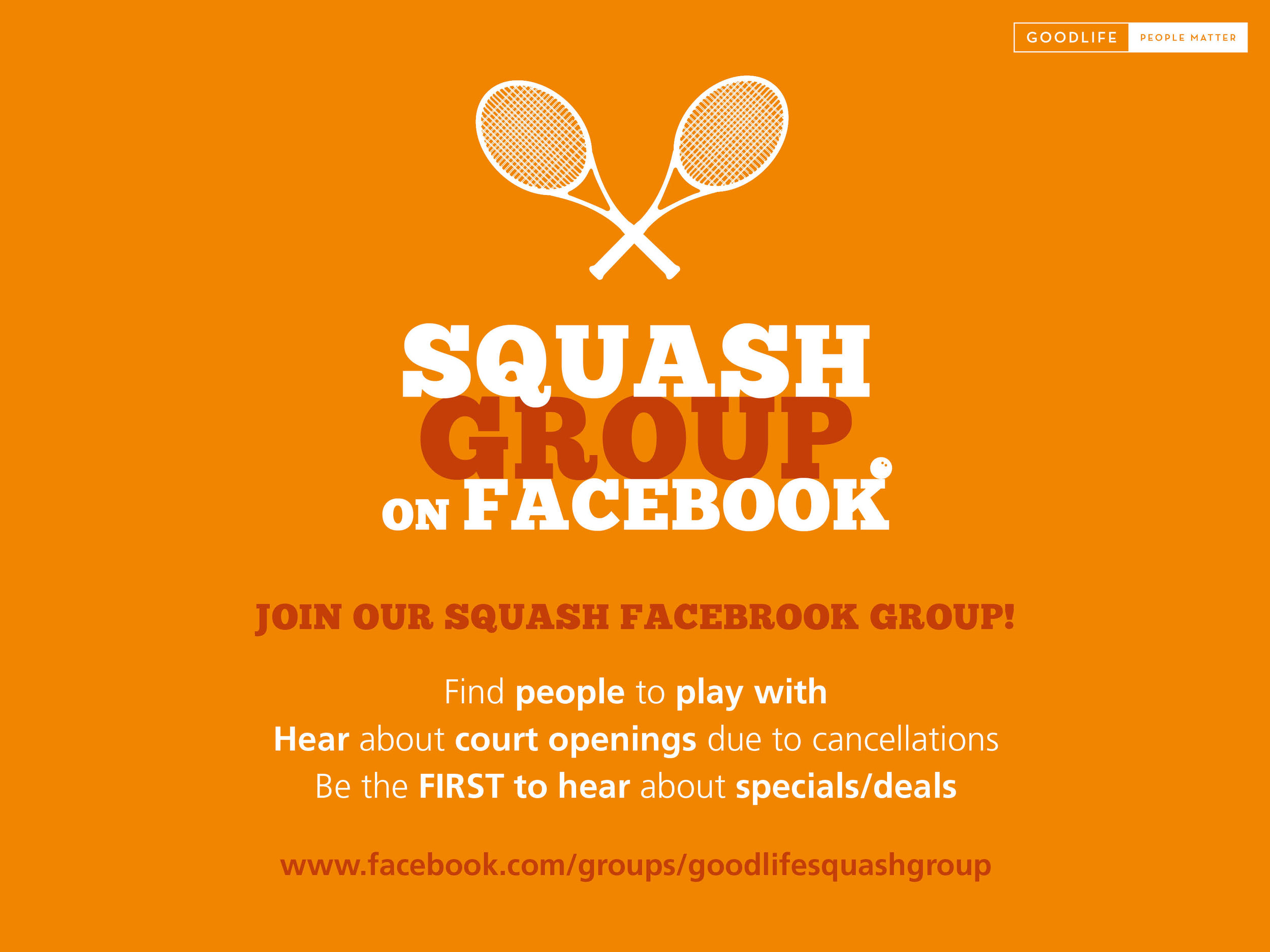 Click on the image to go directly to the squash group page.