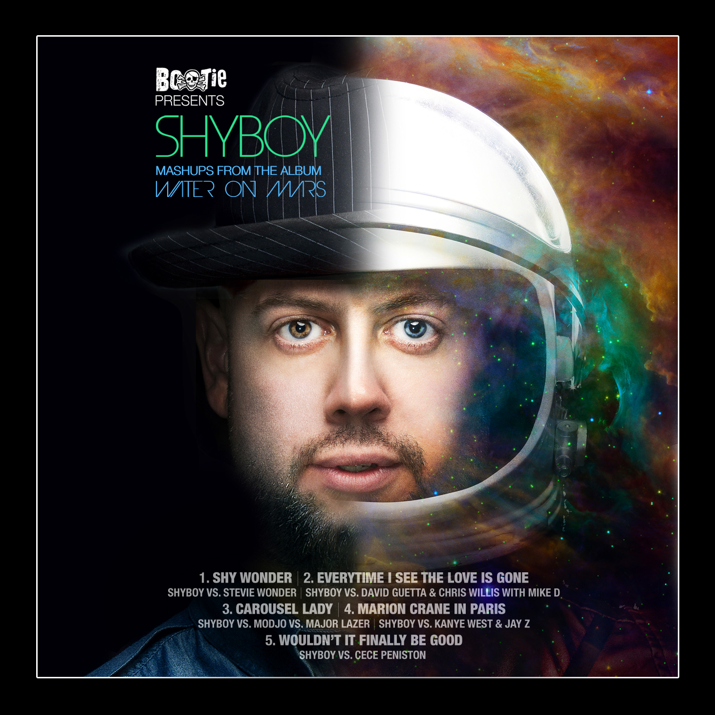 ShyBoy - Mashups from 'Water on Mars'