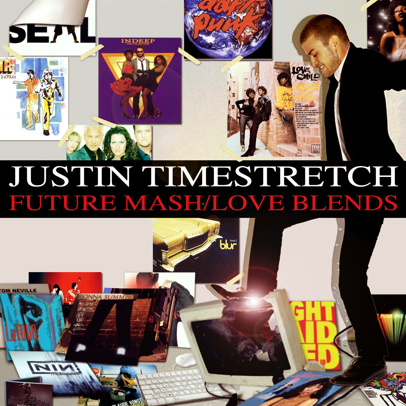 DJ ShyBoy - Justin Timestretch: Future Mash/Love Blends