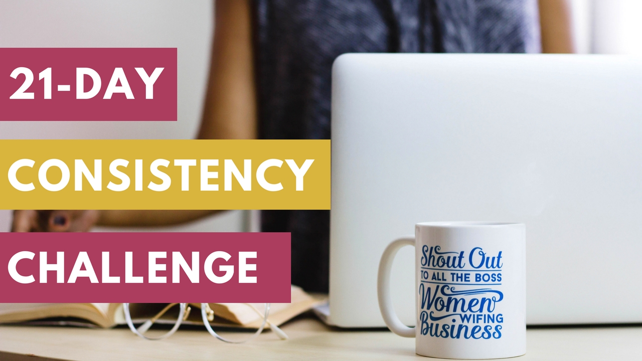 Learn how to be more consistent on your book writing journey. -