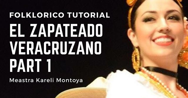 "I just posted my latest dance tutorial! This is only Part 1 of my ""El Zapateado Veracruzano Folklorico Tutorial Series."" To see this tutorial visit my blog at FolkloricoLosAngeles.Com. Good luck! -Kareli 💜 #balletfolkloricodelosangeles #folklorico #folkloricotutorial #dance #dancetutorial #folkloricodance #tutorial #folkloricoblog #blog #balletfolkloricodemexico #balletfolkkorico #veracruz"