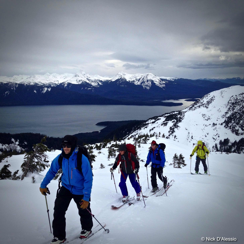 Skiing in Juneau Alaska