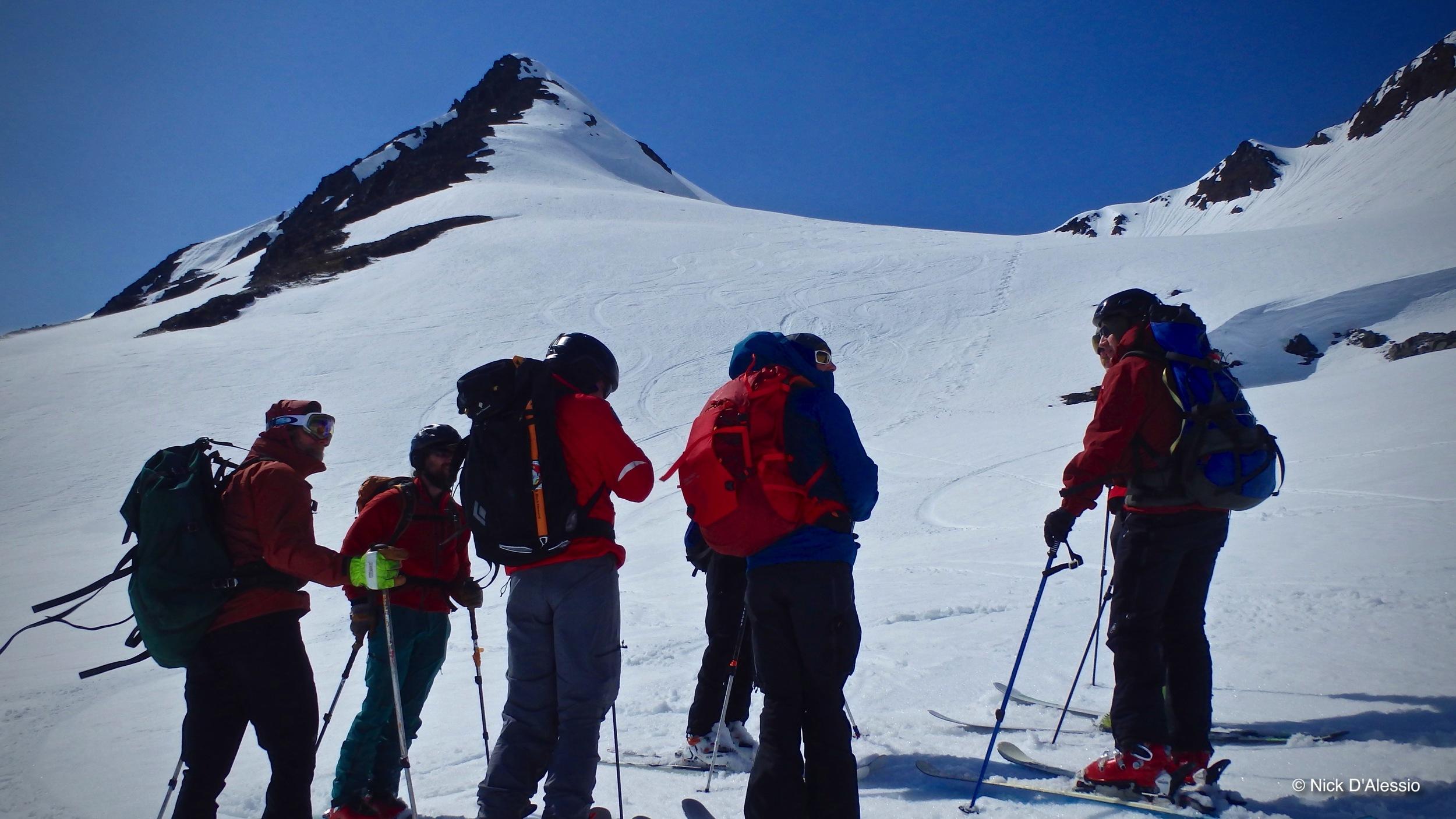 Kodiak Alaska, backcountry skiing