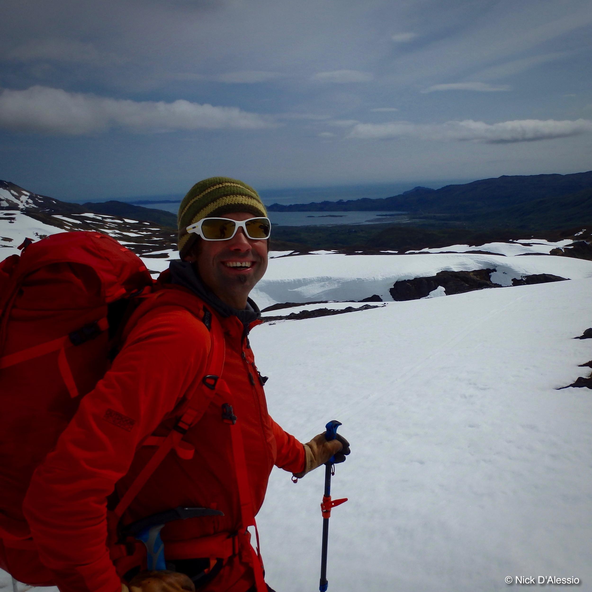 Kodiak Alaska, ski to sea