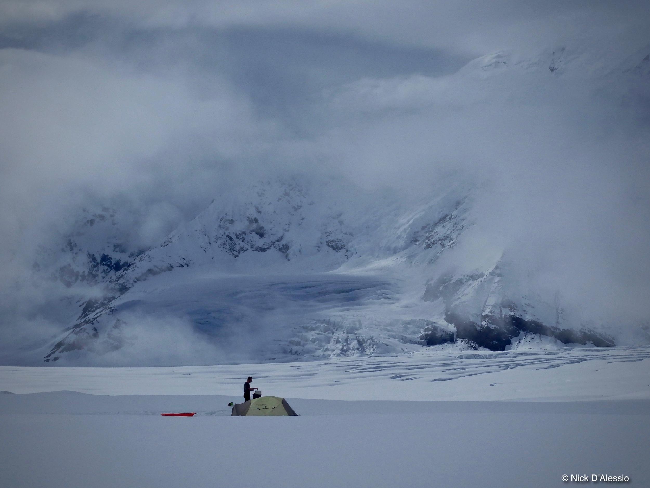 Kahiltna Base Camp, Alaska Range