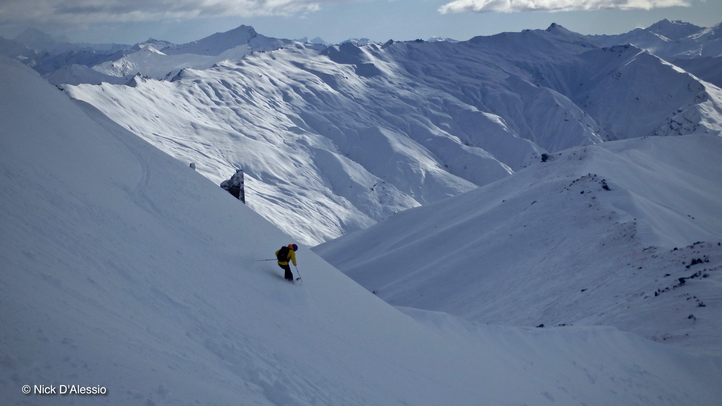 Skiing. Photo by Ski Guide Nick D'Alessio
