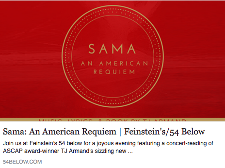 Marlain Angelides appearing in SAMA: An American Requiem at 54 Below