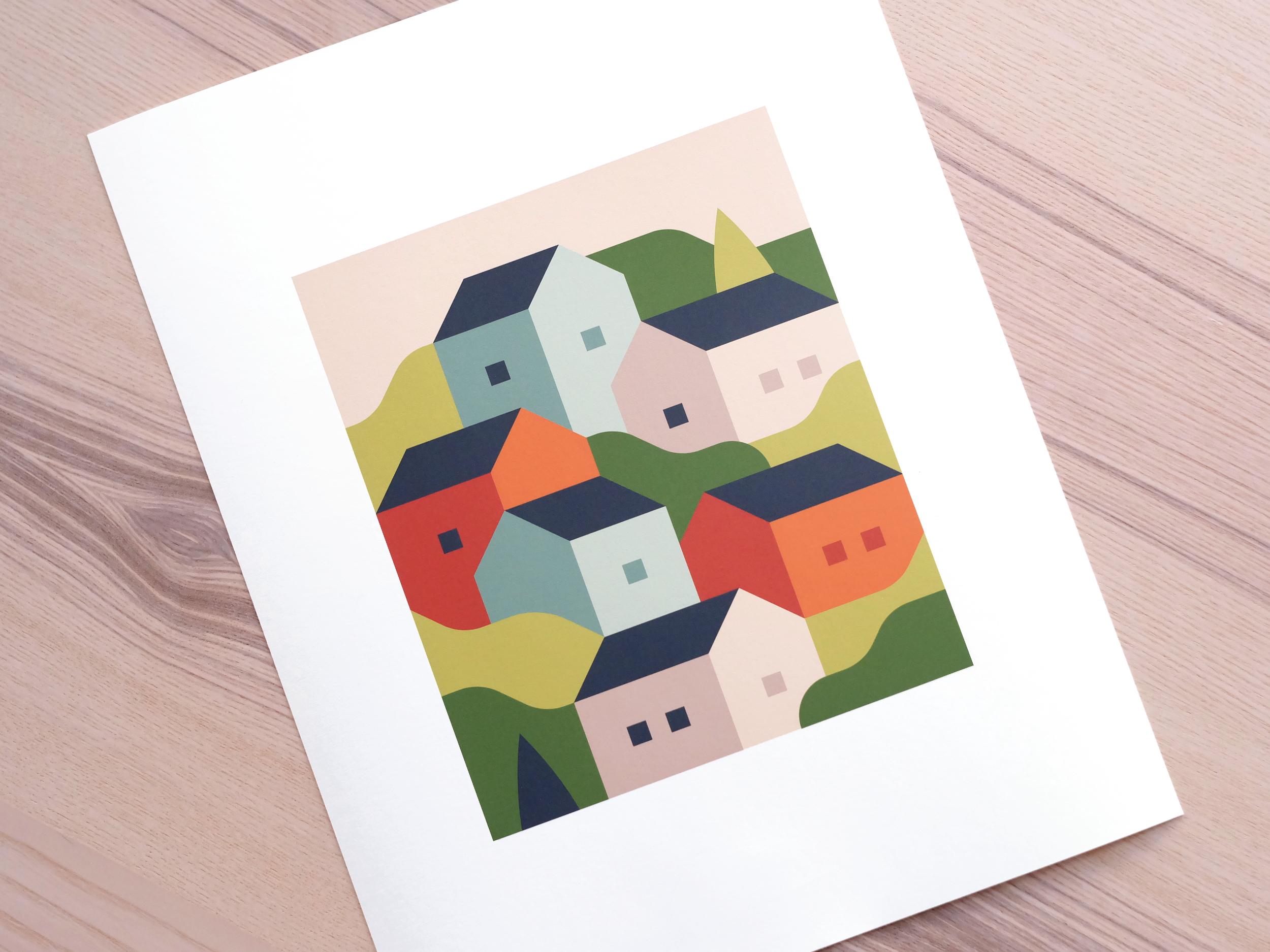 Spring art print by Alex Pasquarella