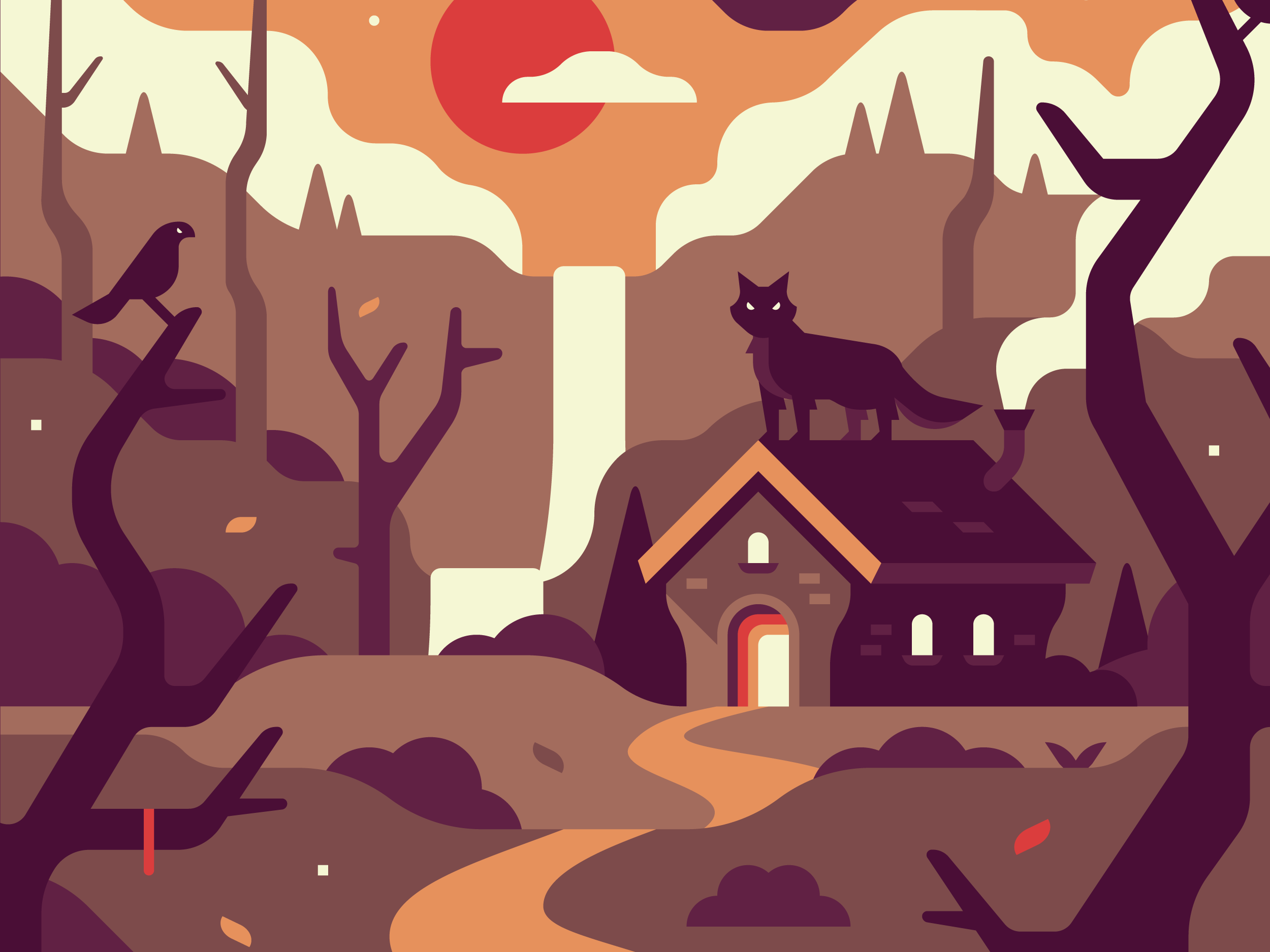 Fandom Dark Fairy Tales by Alex Pasquarella, Canopy