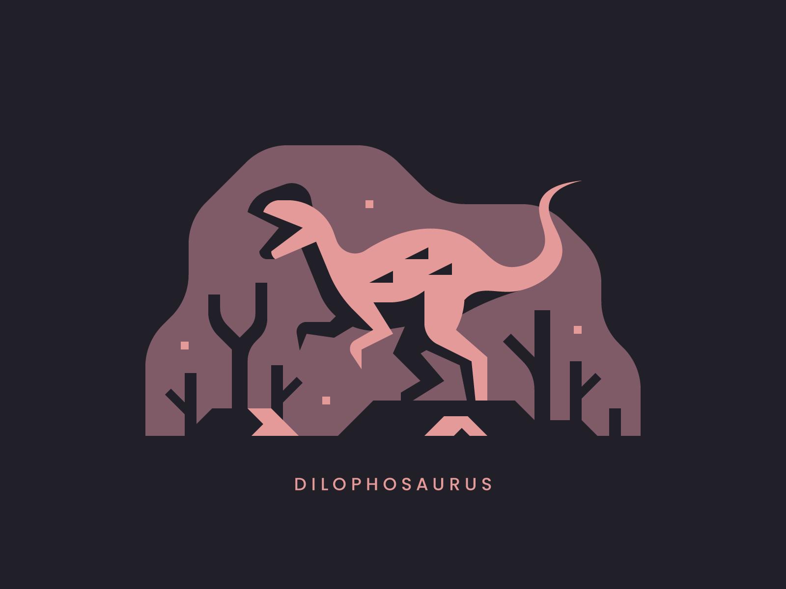 Dinosaur illustrations and prints by Alex Pasquarella, Canopy