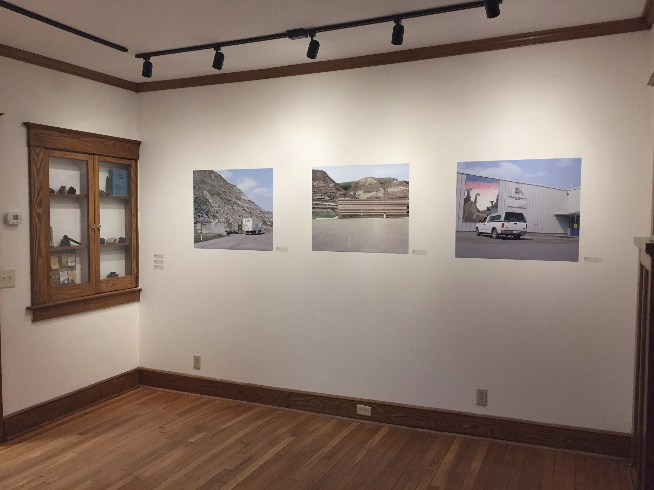 Exhibition image at the Bundy Museum