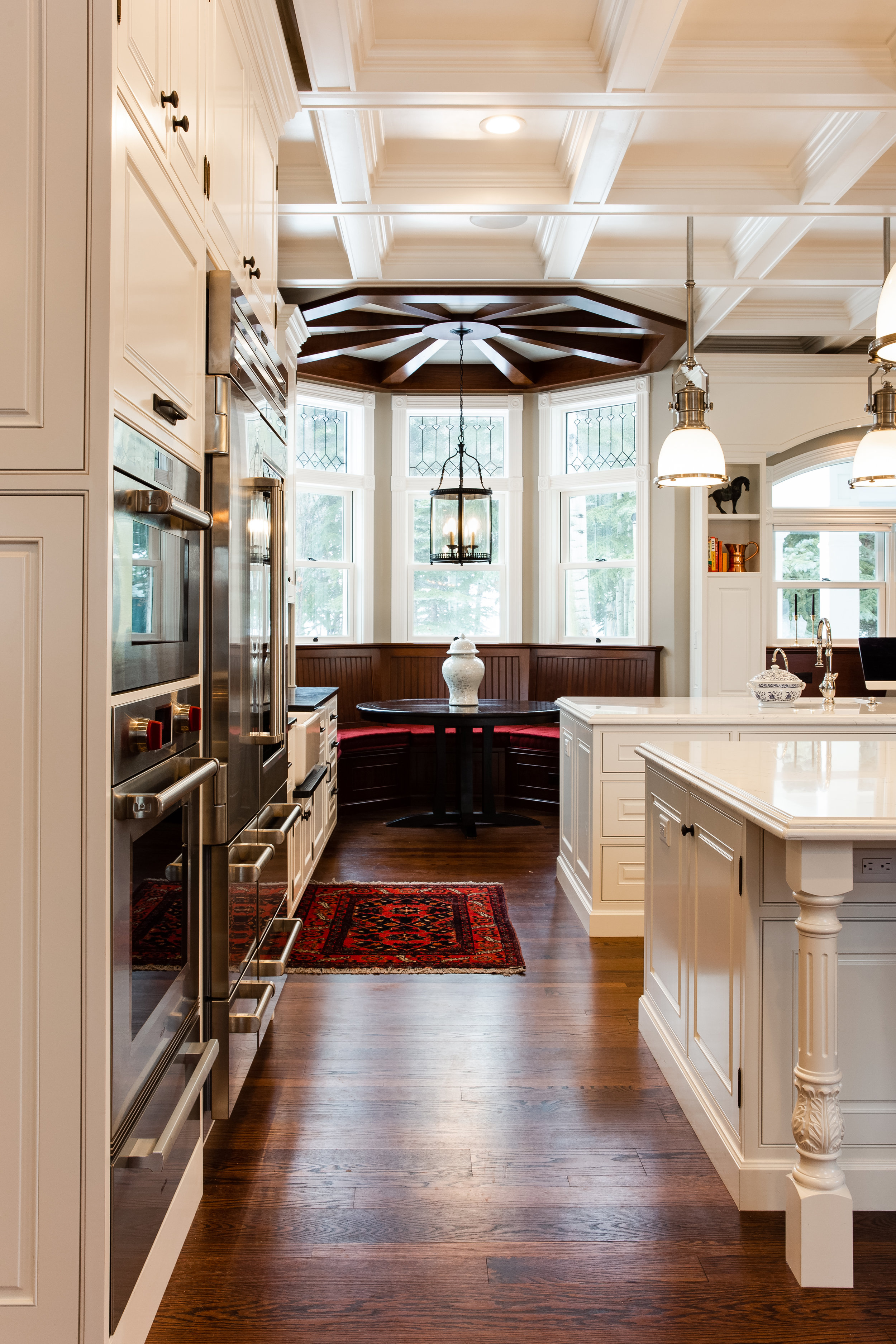 Melissa Kelsey Utah Residential Architecture Photographer Historic Home Kitchen Remodel In Park City For Teerlink Cabinets