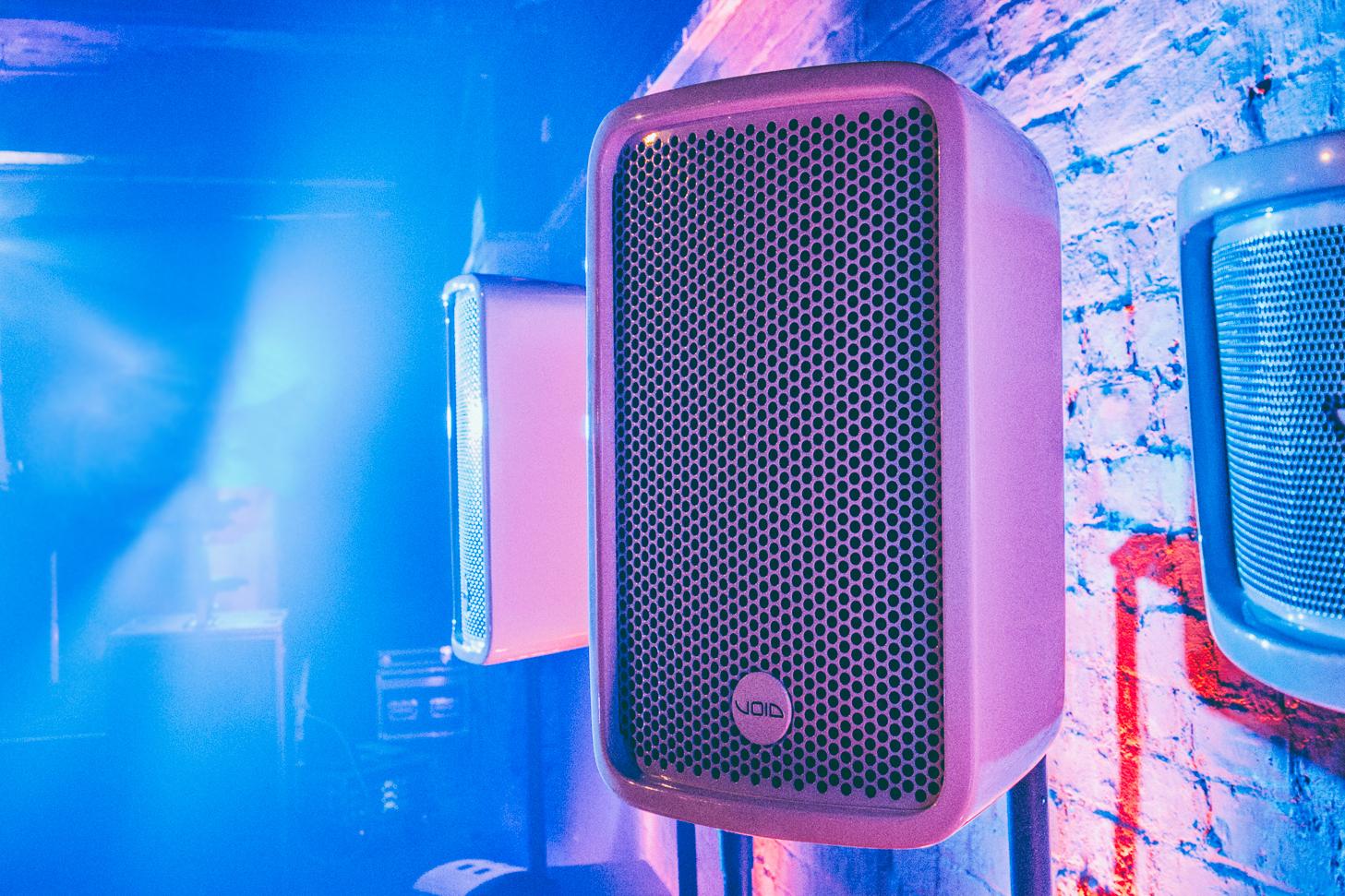 Void Acoustics Cyclone 10 speakers