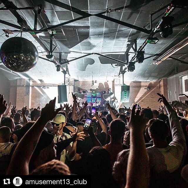 Custom Hulk green @voidacoustics Nexus 6, Stasys X Air and Air Vantage monitoring plus ShowCAD controlled @chauvet_pro and @adj_lighting and @elationprofessional visuals at Birmingham's @amusement13_club - still going strong after many years of flawless service!  #Repost @amusement13_club with @get_repost ・・・ @collectivebhx 🎥📀 Sometimes we all need a little DNB 🙌🏼