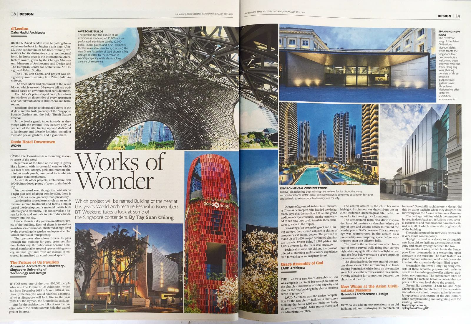Business Times: WAF Feature