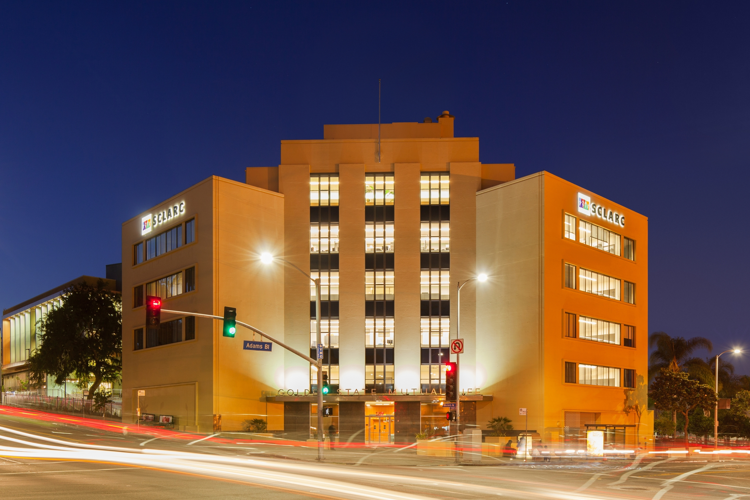 SCLARC Golden State Mutual Building